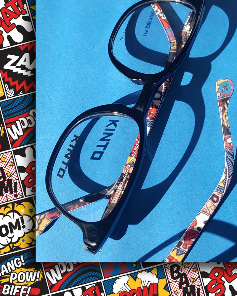 Kinto Kids Eyewear - Pattern Design, Graphic Design, Photography