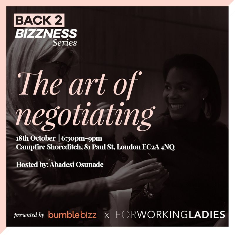 The Art of Negotiation workshop - Get tickets here