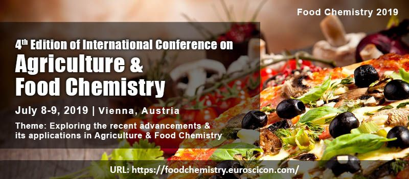 New Research Concepts at Food Chemistry 2019