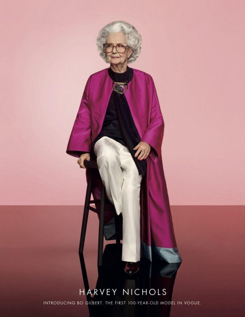 Harvey Nichols - 100 year-old model