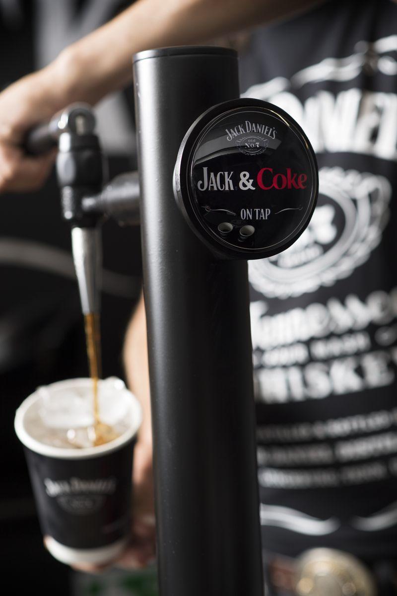 Jack Daniels & Coke On Tap
