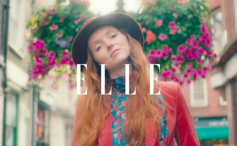 ELLE X DYSON X LILY COLE (VIDEO)