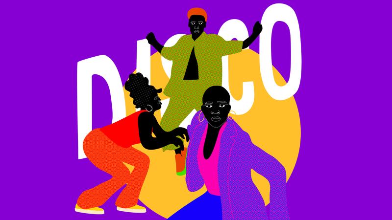 Animation disco
