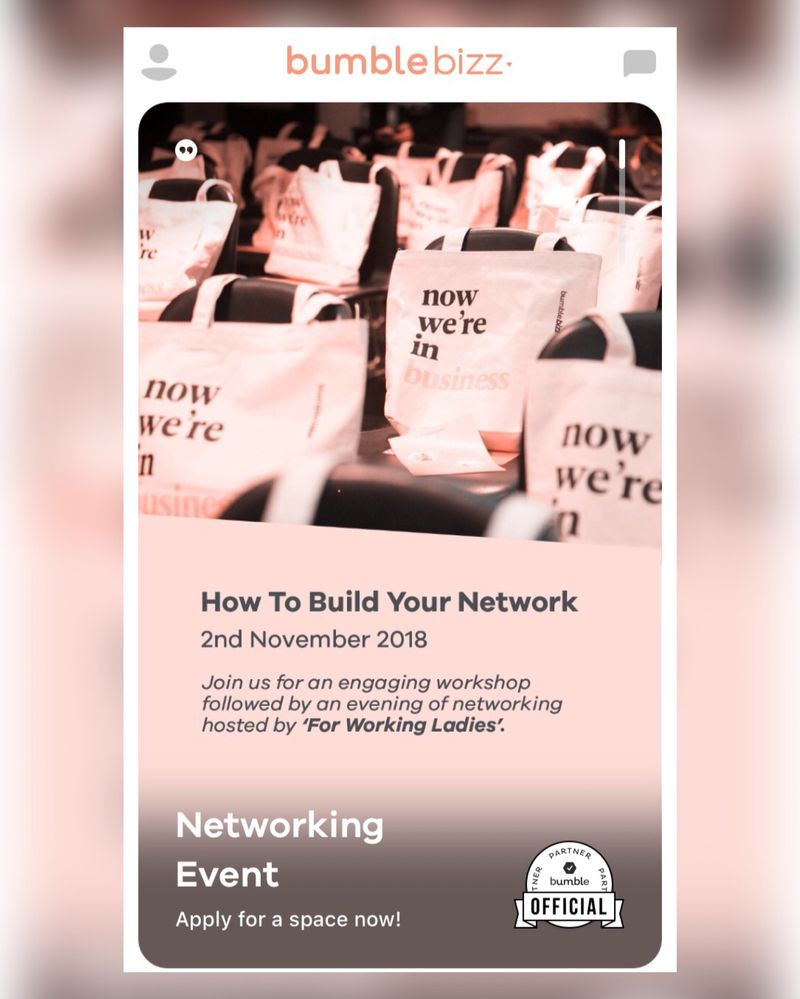 How to build a network + networking party!  get tickets