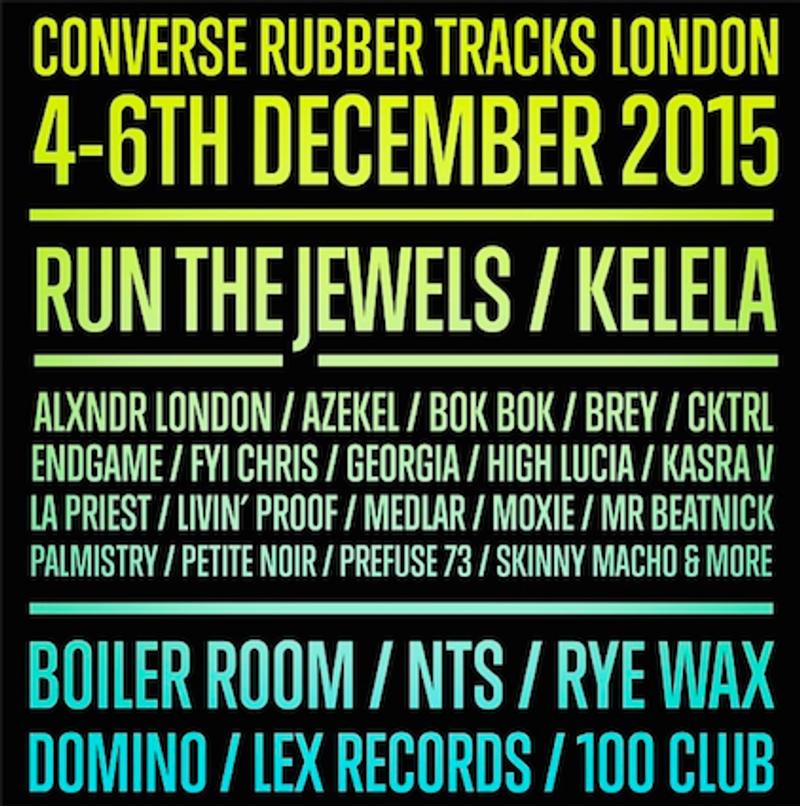 Converse Rubber Tracks Weekender, London