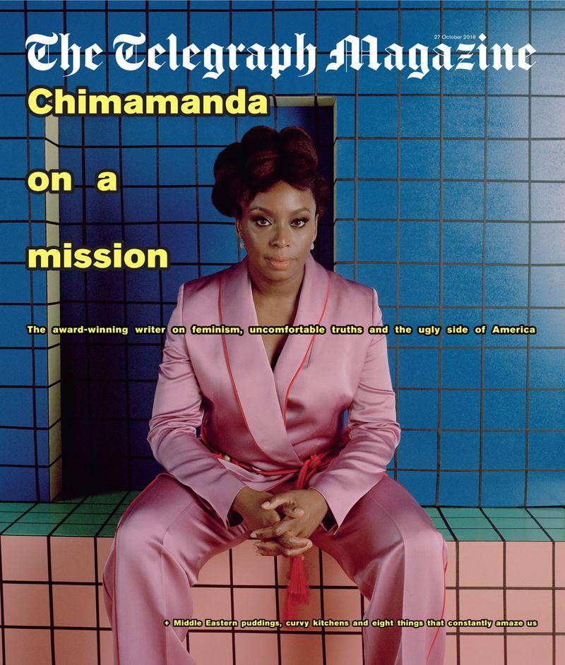 Chimamanda Adichie x Telegraph Magazine x Broomberg & Chanarin