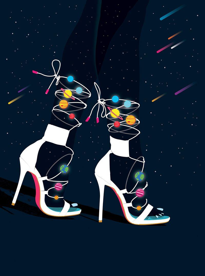 'Cosmic Heels'
