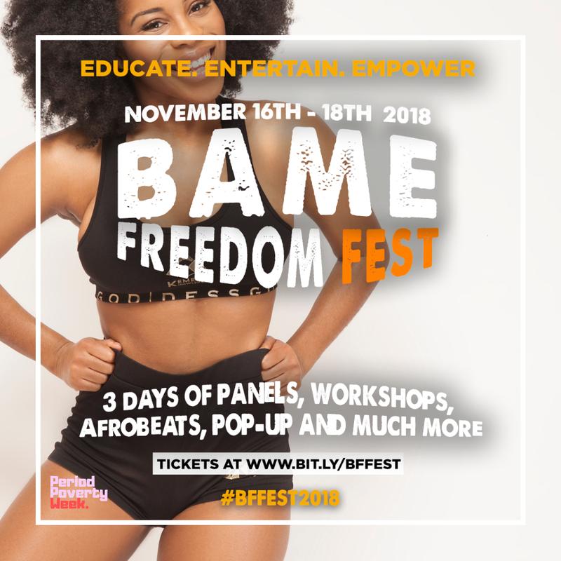 BAME Freedom Festival 2018