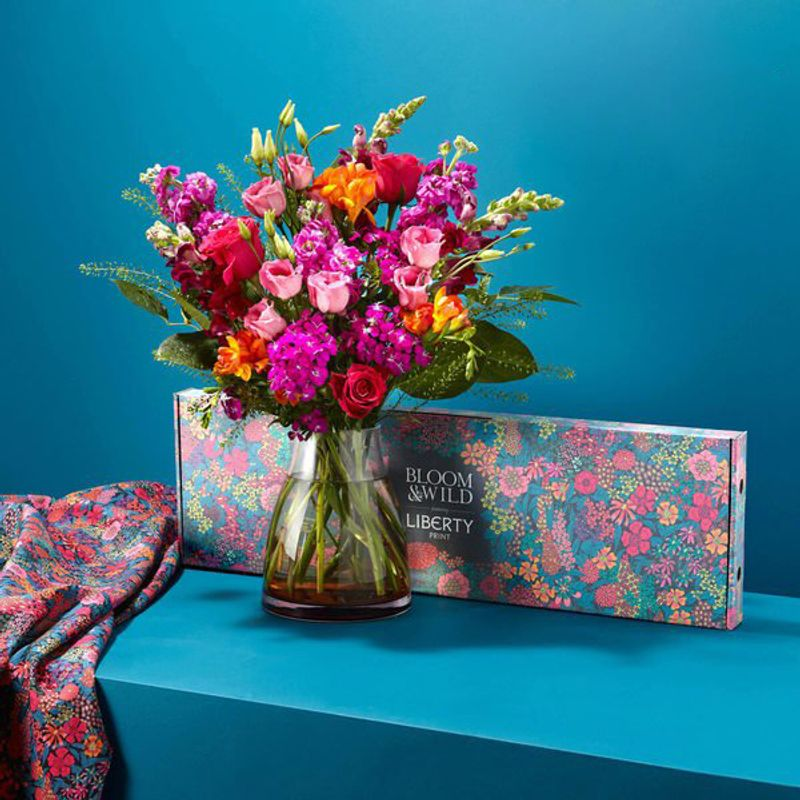 Packaging Design: Bloom & Wild x Liberty