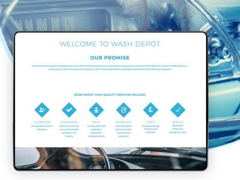 Wash Depot Ltd Identity