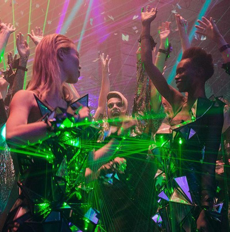 Bespoke Laser Dresses for Absolut Nights Berlin