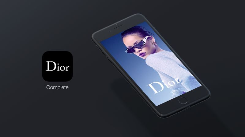Dior Fragrance and Makeup Mobile App