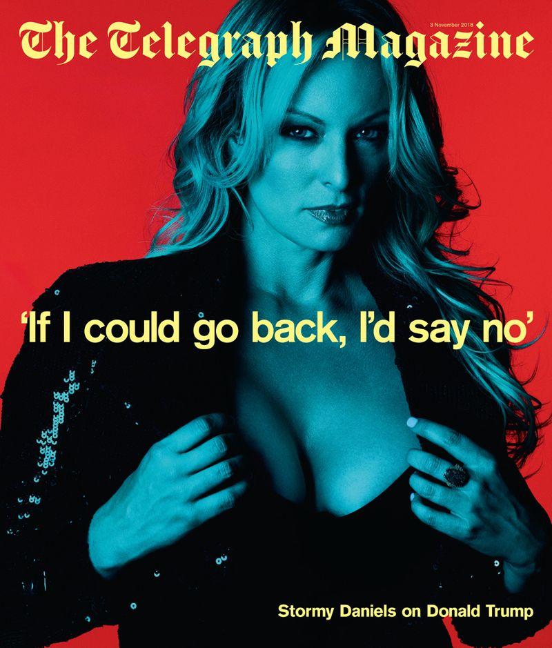 Stormy Daniels x Telegraph Magazine x Ben Hassett