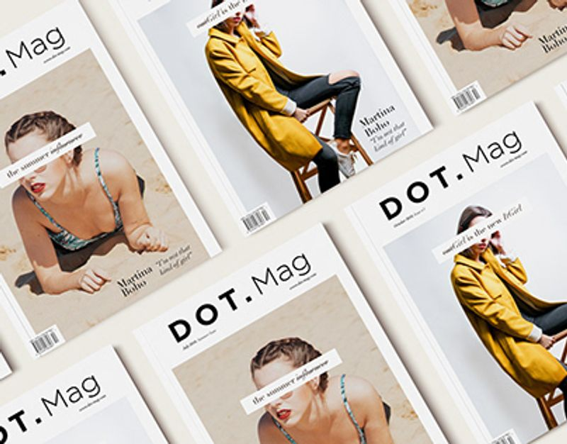 Dot.Mag (cover design)
