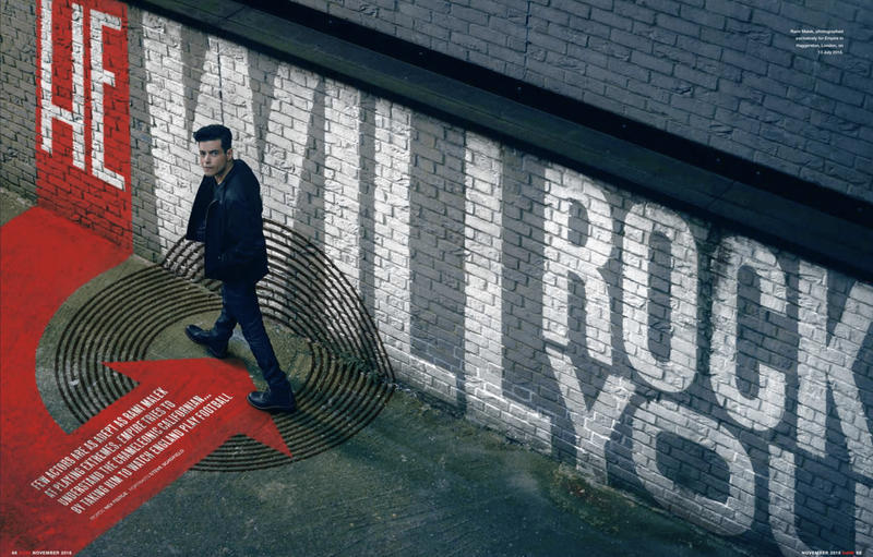 """Empire NOV18 - Rami Malek - """"He Will Rock You"""""""
