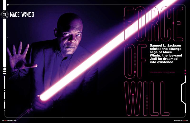 "Empire - SEP18 - Samuel L. Jackson - ""50 Greatest Star Wars Characters"""