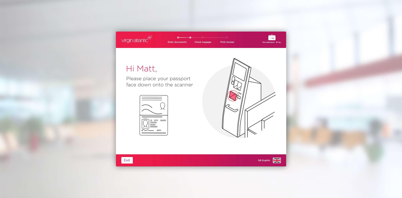 Designing airport bag drop kiosks | The Dots