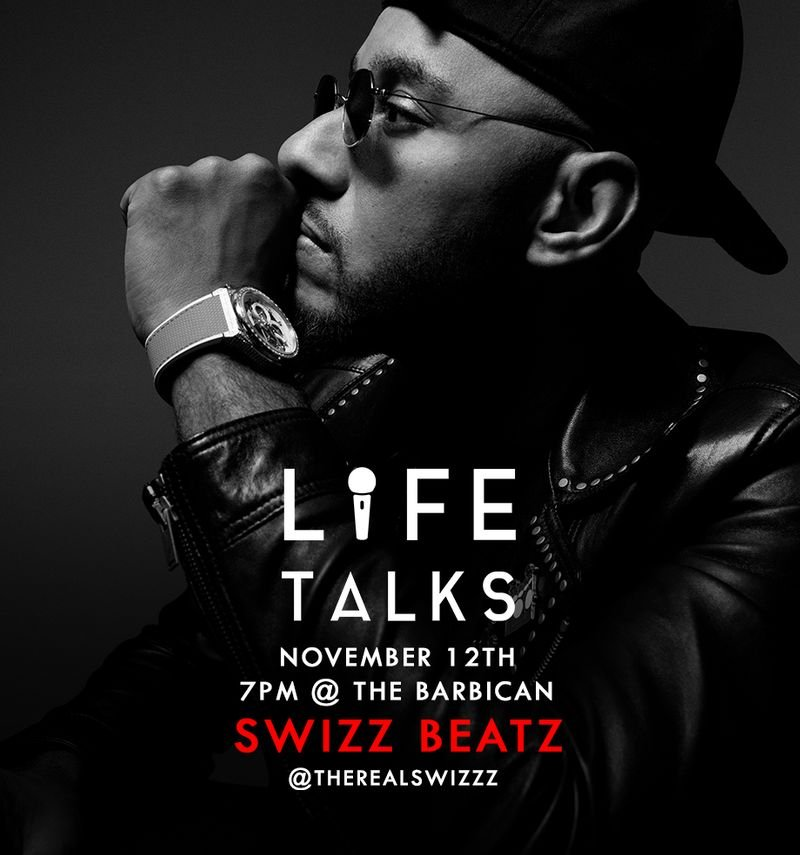 Life Talks Presents: Swizz Beatz