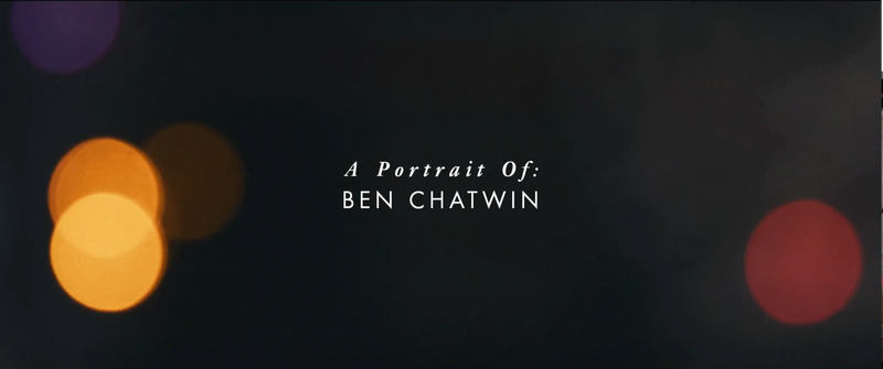 A Portrait of Ben Chatwin
