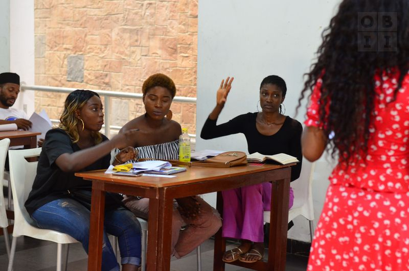 Poetry workshops for young women
