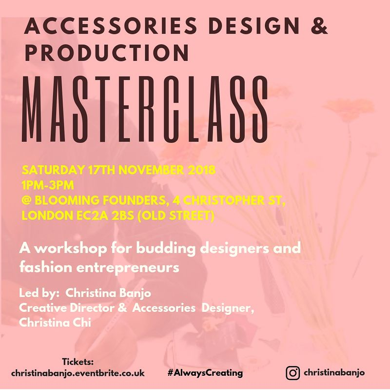 Accessories Design and Production: Masterclass