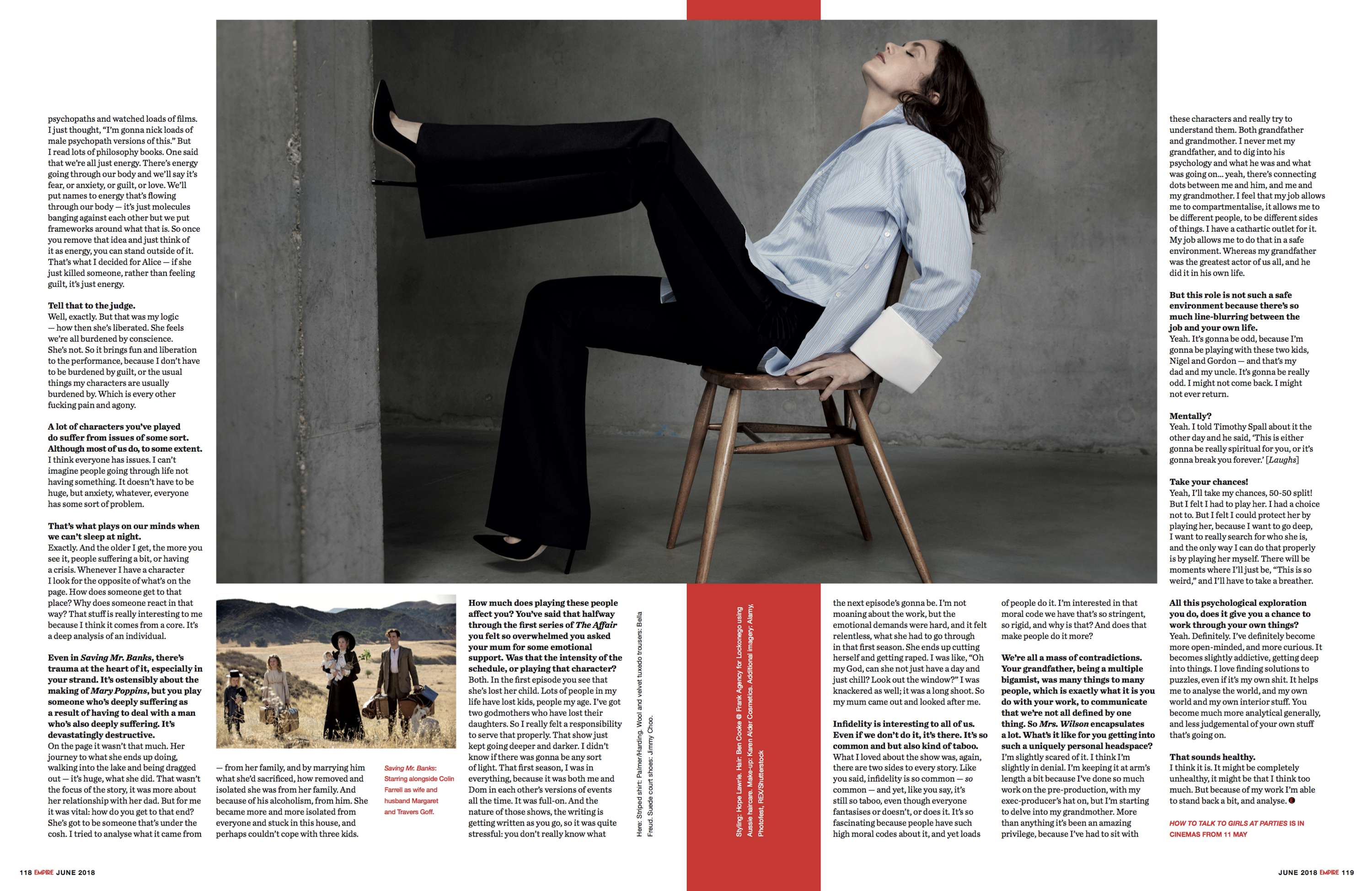 b4862b72955d8 Ruth Wilson shot exclusively for Empire magazie s JUNE18 issue by Sandrine  Dulermo and Michael Labica