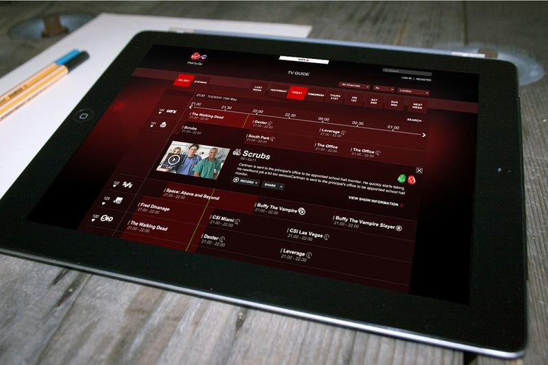 Virgin Media - TV Anywhere