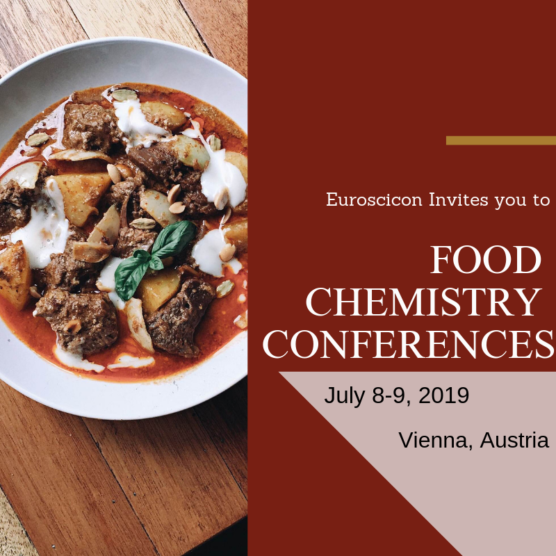 Opportunity to Share your Research Ideas @Food Chemistry Conferences