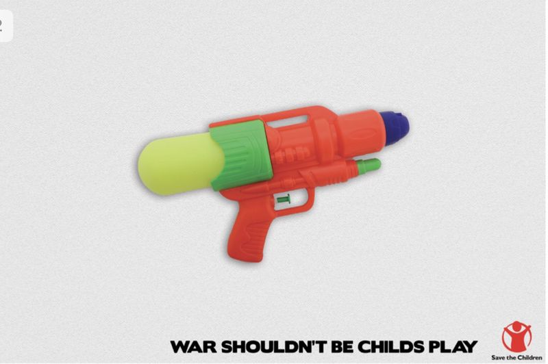 War Shouldn't Be Childs Play - (Work from 2015)