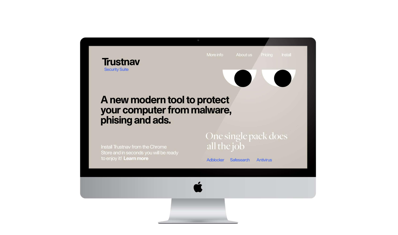 Trustnav Identity | The Dots
