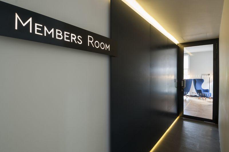 Members' Room, National Maritime Museum, London
