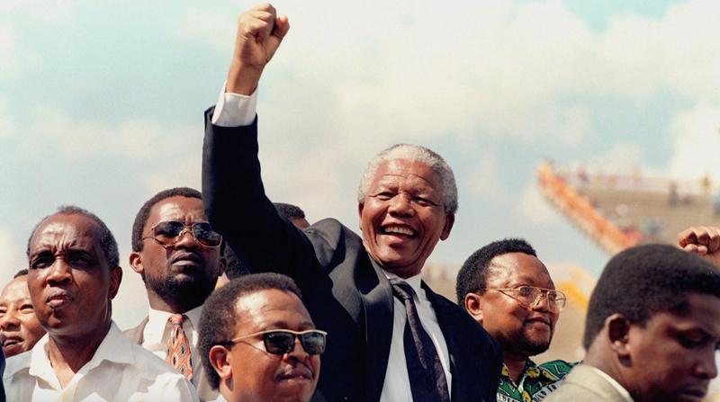 Being Nelson Mandela