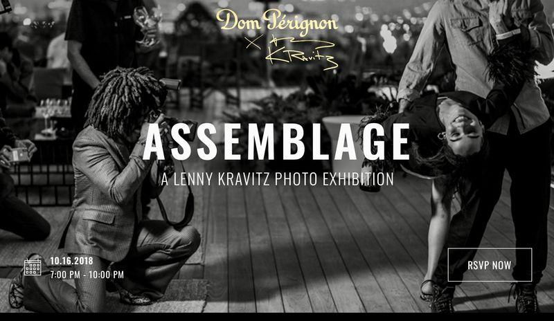 Dom Pérignon x Lenny Kravitz : Exhibition Assemblage