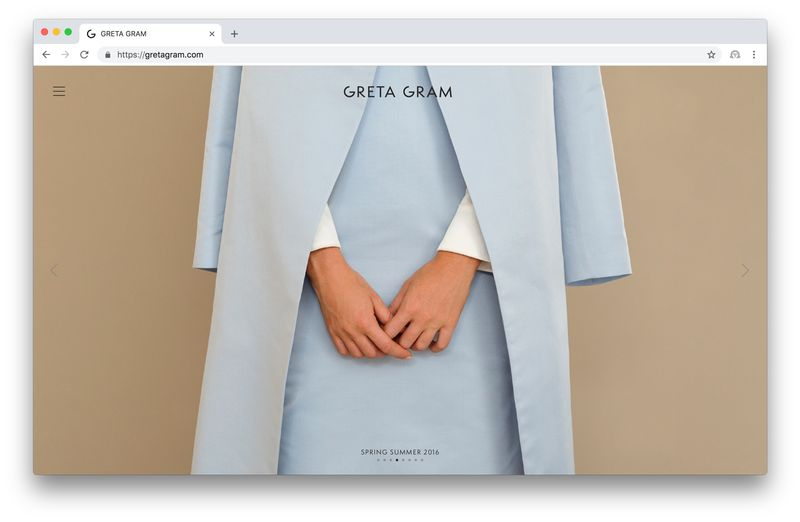 Website Greta Gram