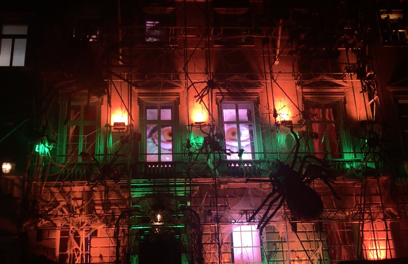 Annabel's Halloween LED Show