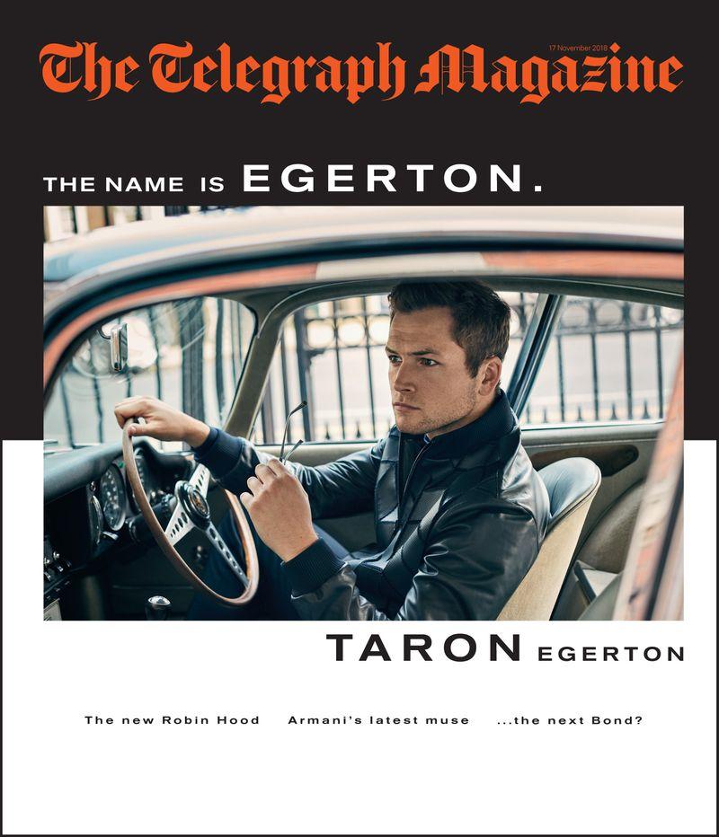 Taron Egerton x Telegraph Magazine x Lorenzo Agius