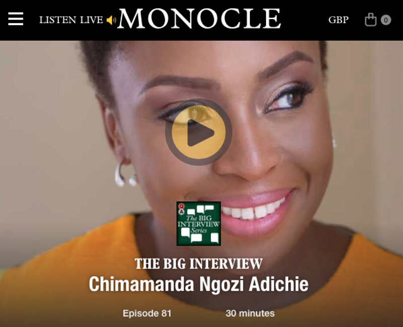 The Big Interview: Chimamanda Ngozi Adichie