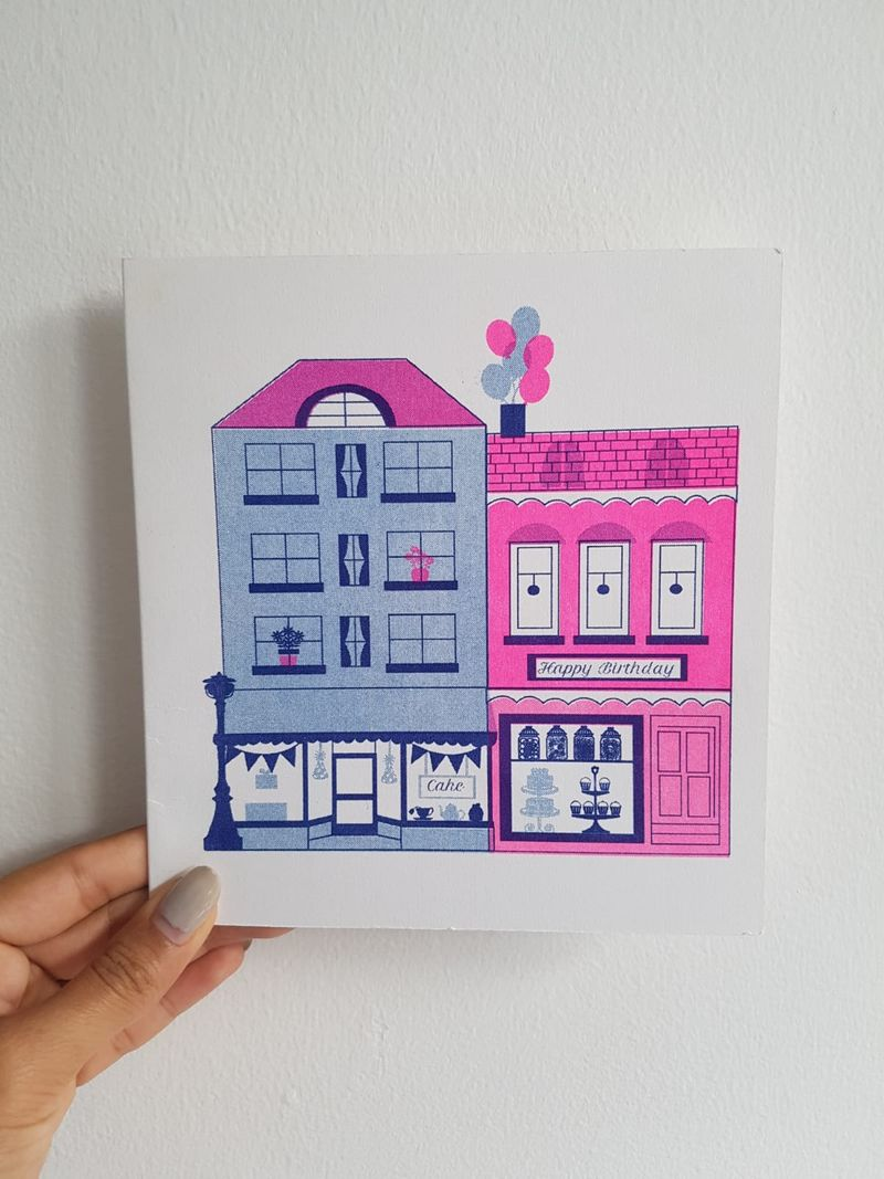 Paper Rose Card Colletion