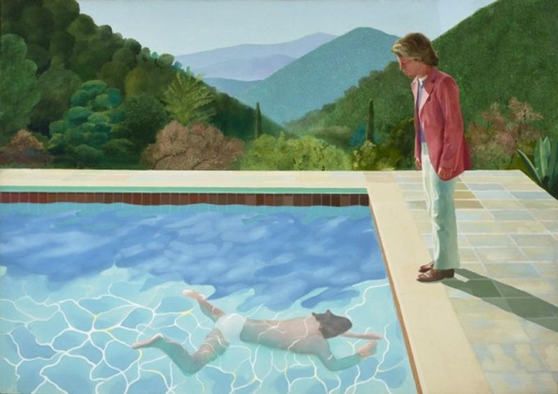David Hockney: 60 Years of Work, Tate Britain, London