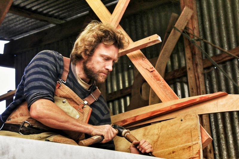 Ben Harris - Master Boatbuilder for Coast Magazine