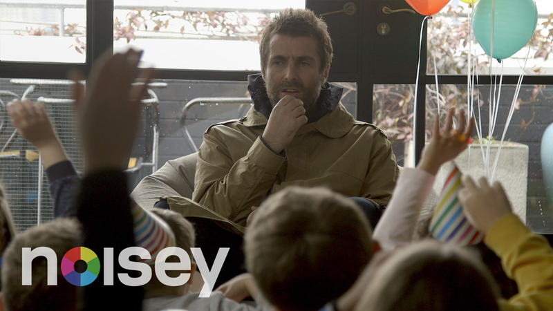 Liam Gallagher Vs Cute Kids