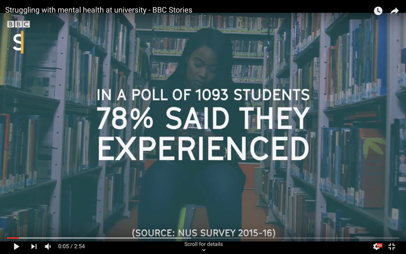 Mental Health at University with BBC Stories