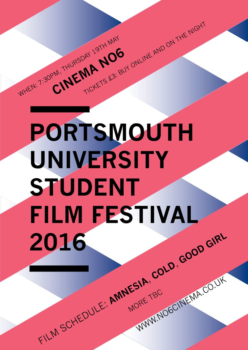 Portsmouth University Film Festival 2016
