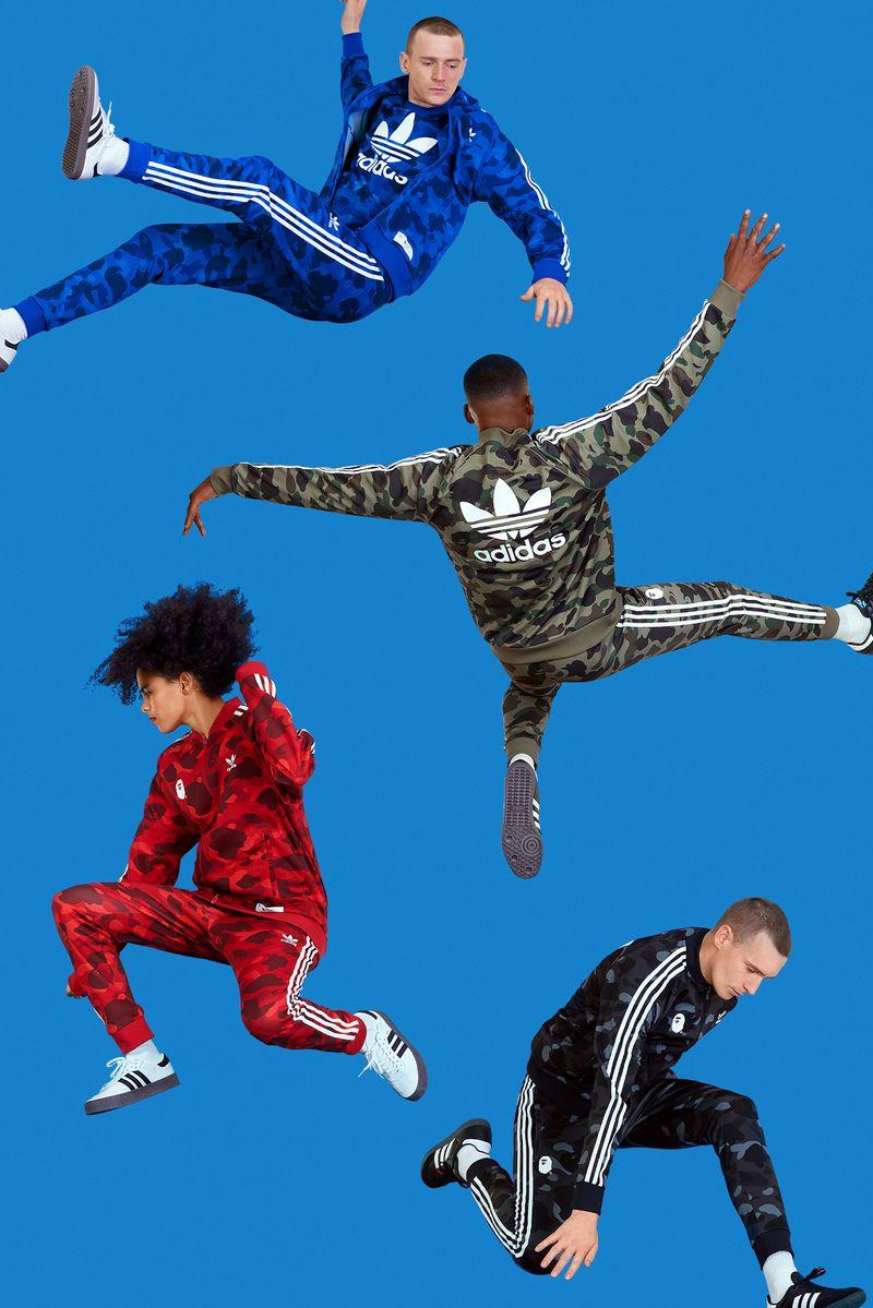 Adidas - BAPE x adicolor