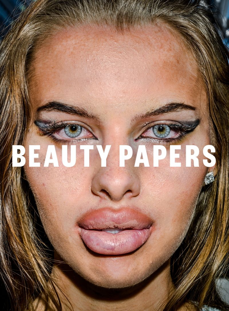 Bruce Gilden for Beauty Papers
