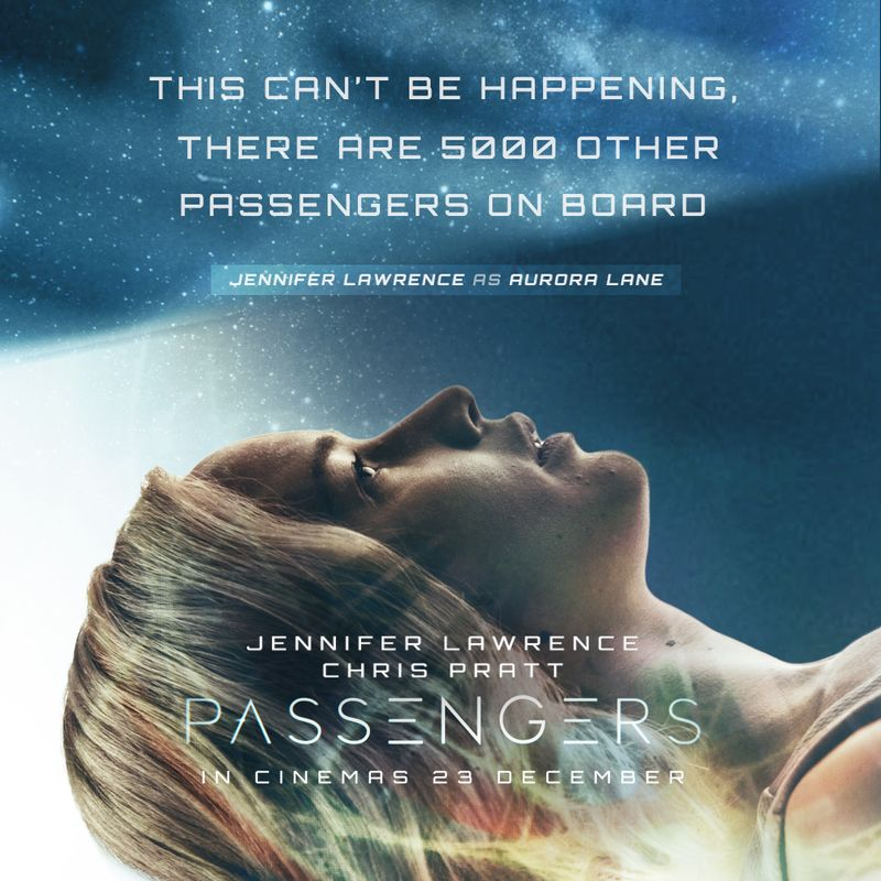 Passengers Social Content for Sony Pictures