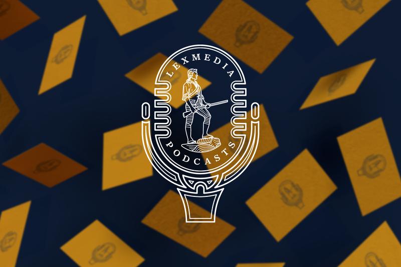Lexmedia Podcast Logomark