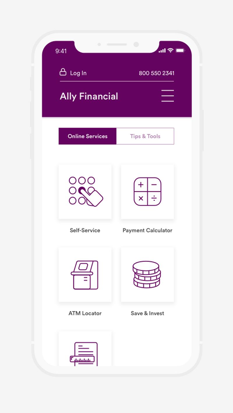 Ally – Website Concept
