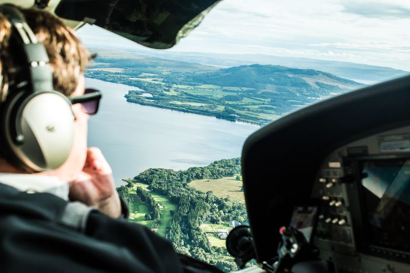Discover Britain magazine:  Seaplanes above Loch Lomond