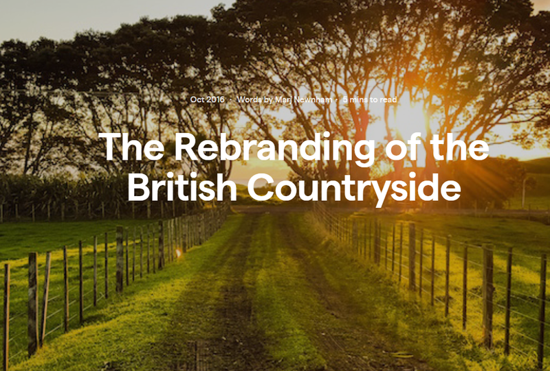 The Rebranding of the British Countryside